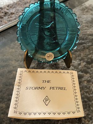"""Mini Fairpoint Glass Plate """"The Stormy Petrel"""" for Sale in Shaker Heights, OH"""