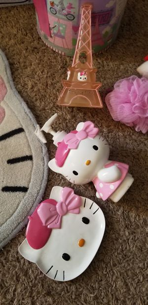 Hello kitty bath items for Sale in Lake Elsinore, CA