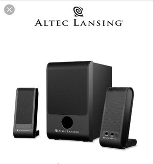 Altec Lansing 28 watts computer/gaming speakers for Sale in Dearborn Heights, MI