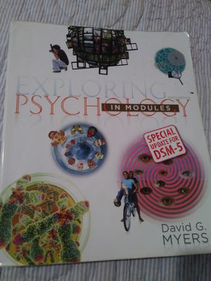 Exploring Psychology in Modules 9th edition for Sale in Modesto, CA