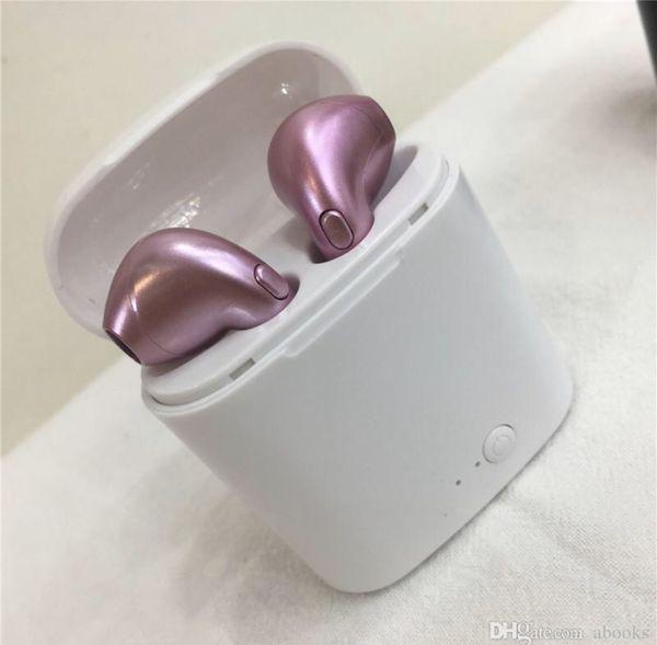 New I7s twn Bluetooth wireless headphones earbuds audifonos