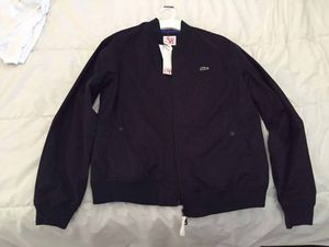 Lacoste live jacket navy blue for Sale in Silver Spring, MD