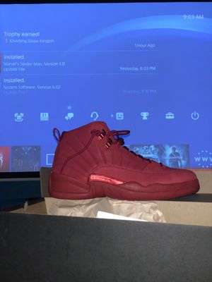 Jordan 12 Red Bull's size 10 never used for Sale in Palm Beach Shores, FL