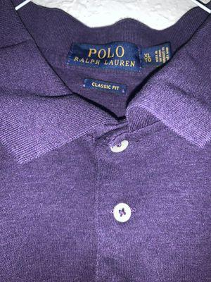 Polo Ralph Lauren purple shirt for Sale in Ontario, CA