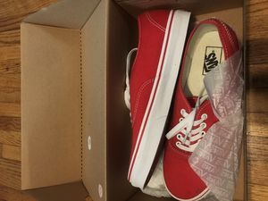 Vans Shoes Red Size 10 Brand New for Sale in Los Angeles, CA