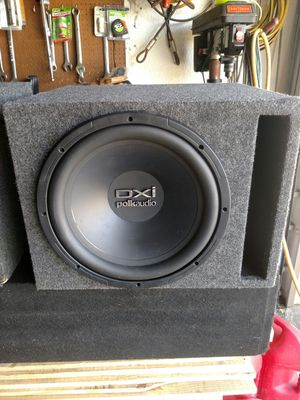 Polk audio DXI 12 sub in vented box for Sale in Lehigh Acres, FL
