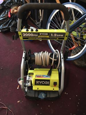 Ryobi electric pressure washer w/ soap dispenser for Sale in Cleveland, OH