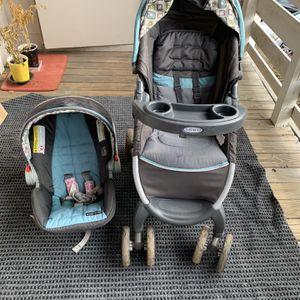 Grace Stroller And Baby Car Seat for Sale in Atlanta, GA