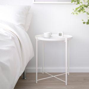 IKEA GLADOM Tray Table White for Sale in Arlington, VA