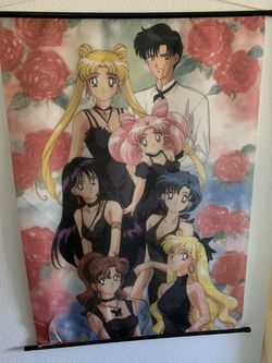 Sailor Moon Wall Scroll for Sale in Everett,  WA