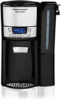 Hamilton Beach 12-Cup Coffee Maker, Programmable BrewStation Dispensing Coffee Machine (47900),Black - Removable Reservoir for Sale in Bell Gardens, CA