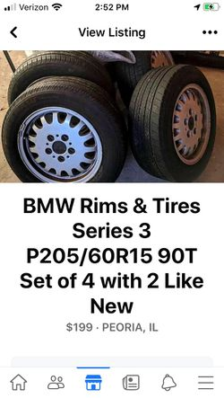 BMW RIMS N TIRES for Sale in Peoria,  IL