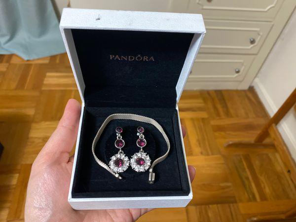 Pandora bracelet and silver tips