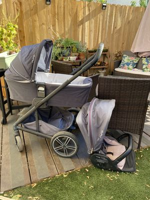 Nuna Mixx stroller and Bassinet for Sale in Los Angeles, CA