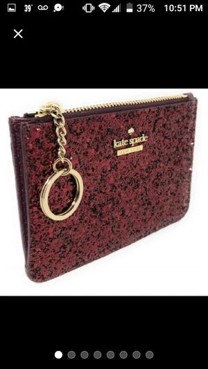 🆕Kate Spade Glitter ID Credit Card Wallet Key Chain for Sale in Schaumburg, IL