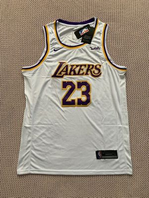 LeBron James Los Angeles Lakers Nike NBA Basketball Away White Jersey - Size XL for Sale in Chicago, IL