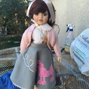 Retro 50s Porcelain Doll for Sale in Long Beach, CA