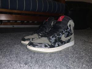 Jordan 1 Camo 3M Shadow: size 10.5: 8.5/10 condition for Sale in East Providence, RI