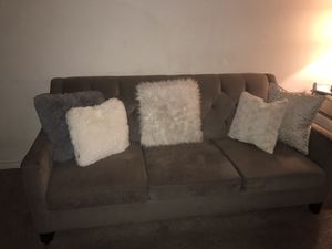 Grey 2 PC Sofa and Loveaseat Set - Pick Up Today for Sale in Claremont, CA