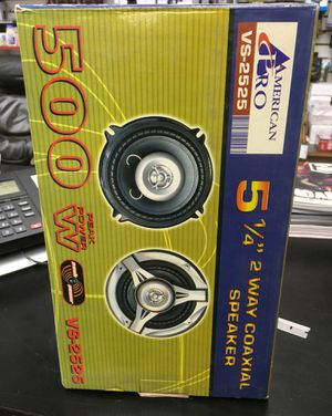 5 1/4 inch speakers 2ways new 500 watts power for Sale in Los Angeles, CA