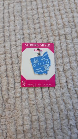 Ohio Vintage Sterling Silver Charm for Sale in Chandler, AZ