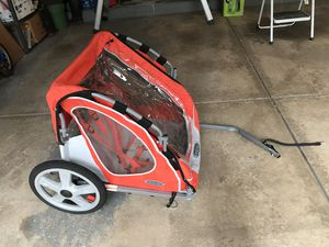 Instep bike trailer. Well kept. Being stored indoor! for Sale in Buffalo Grove, IL