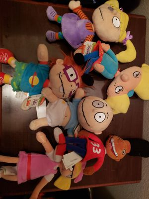 Rugrats and hey Arnold plush for Sale in Austin, TX