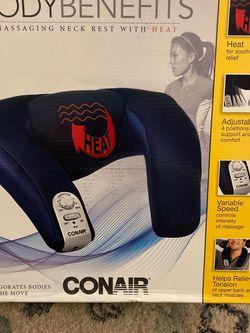 Bodybenefits Neck Massaging Pillow W Heat & Speed Control for Sale in La Presa,  CA