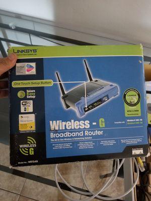 Linksys wireless router WRT54G for Sale in Lynwood, CA