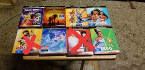 Brand New and Sealed 4K Ultra HD Disney Movies for Sale in Pomona, CA