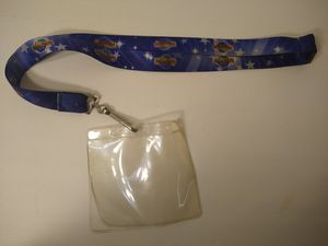 Universal Studios Hollywood lanyard blue for Sale in Los Angeles, CA