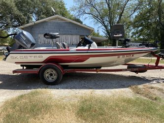 2005 Skeeter 17ft Bass Boat for Sale in Marlin,  TX