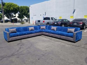 NEW 13X13FT CHARCOAL MICROFIBER COMBO SECTIONAL COUCHES for Sale in Moreno Valley, CA