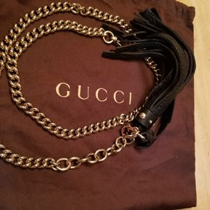 Need a last minute Gift? Only $70. Gucci Chain Tassel Belt for Sale in Trabuco Canyon, CA