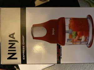BRAND NEW household kitchen appliances Ninja Express Chop for Sale in Laurel, MD