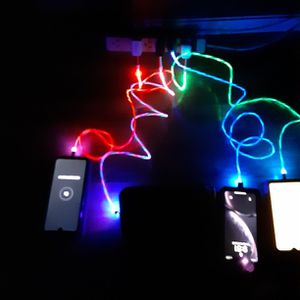 CELLPHONE LIGHTED CHARGERSFOR SAMSUNG AND IPHONES SHIPPING AVAILABLE for Sale in Happy Valley, OR