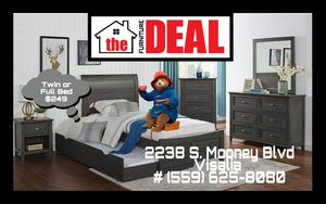 Twin or Full Bed Frame $249 or Purchase 4-PC Set $799 for Sale in Visalia, CA