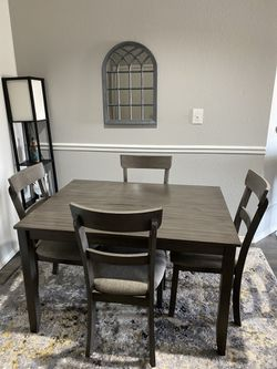 Grey Dining Set for Sale in Irving,  TX