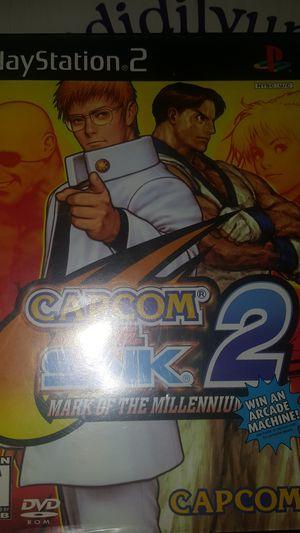 Capcom vs SNK 2 PS2 for Sale in Pasadena, TX