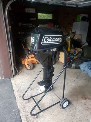 15hp outboard motor for Sale in Harrisburg, PA