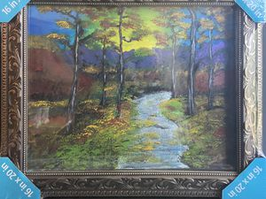 Forest River Painting- Framed for Sale in San Diego, CA