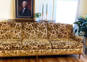 Mid Century Floral Couch for Sale in New Hope,  PA