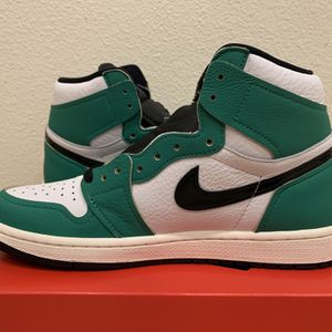 Jordan 1 Retro High Lucky Green (W) for Sale in Hemet, CA