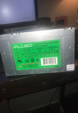 350 Watt ATX Power Supply for Sale in West Monroe, LA