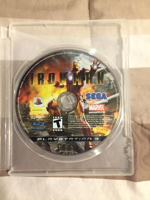 Iron man 1 ps3 (game) for Sale in Dearborn Heights, MI
