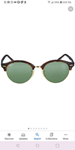 Ray ban with glasses case and paperwork for Sale in Stone Mountain, GA