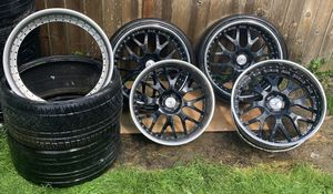 """22"""" Staggered AC Forged Wheels AC313 Three Piece Rims for Sale in Redmond, WA"""