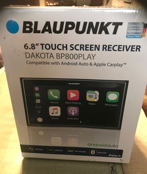 Car stereo Blaupunkt 6.8 touch screen , not pioneer, Ken wood, Sony. for Sale in Pomona, CA
