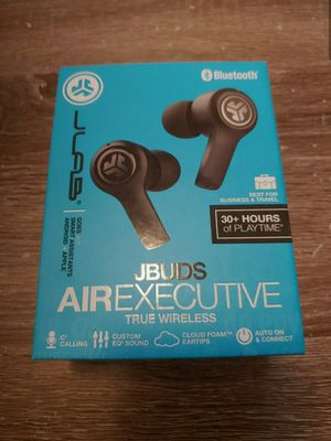 JLab Audio JBuds Air Executive True Wireless Blue Tooth Earbuds Brand New for Sale in Miami, FL