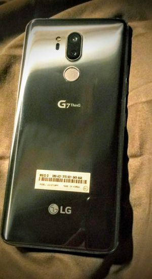 Lg g7 thinQ phone in perfect condition for Sale in San Bernardino, CA